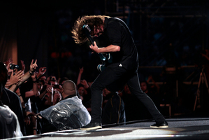 Dave Grohl of the Foo Fighters. Photo / NZ Herald