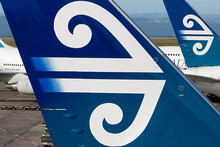 Rob Mercer, head of private wealth research at Forsyth Barr, said there was always a danger of more competition for Air New Zealand. Photo / NZPA