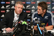 Steve Tew stresses that Richie McCaw's side is not seen merely as a money-spinner. Photo / NZPA