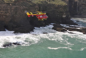 The Auckland rescue helicopter. Photo / APN
