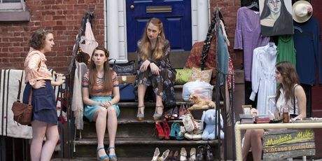 The girls of Girls live in a grittily real New York. Photo / Supplied