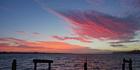 Skies bright in bushfire smoke