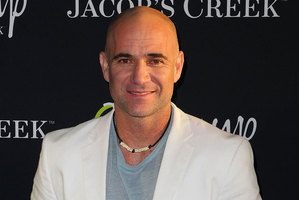 Andre Agassi. Photo / Getty Images