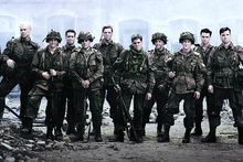 The cast of Band of Brothers. Photo/file