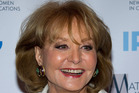 Barbara Walters has been hospitalised after a fall at a party. Photo/AP