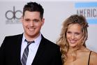 Michael Buble and Luisana Lopilato. Photo/AP