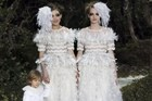 Chanel by Karl Lagerfeld Haute Couture Spring-Summer 2013.Photo / AFP