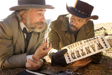 Christoph Waltz and Jamie Foxx in Django Unchained. Photo/supplied