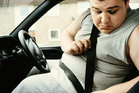 Obese people are up to 80 per cent more likely to die in a car crash compared with people of normal weight, researchers say.Photo / Thinkstock