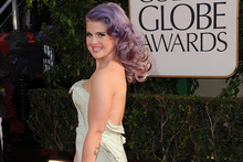 Kelly Osbourne at the Golden Globe awards. Photo/AP
