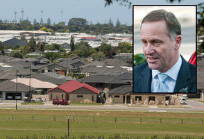 John Key says Labour's plan to build 100,000 houses over 10 years will 'fail miserably'. File photo / NZ Herald