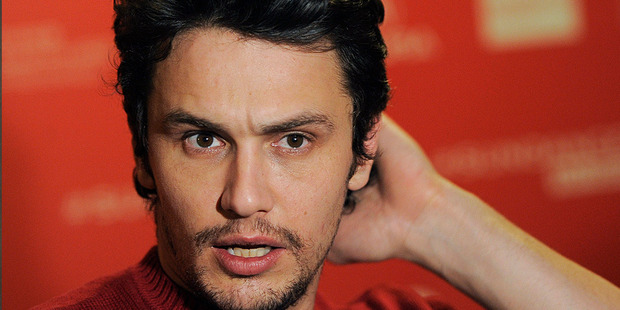 James Franco has apologised for mocking Justin Bieber. Photo/AP