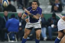 Samoan halfback Kahn Fotuali'i. Photo / Getty Images