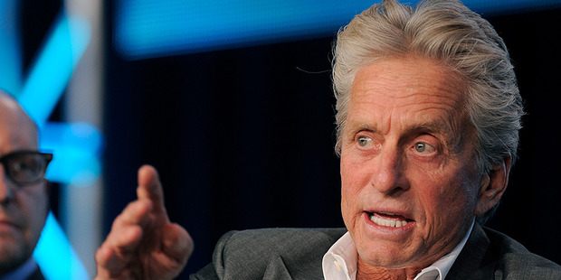 Michael Douglas' eldest son has been placed in solitary confinement. Photo/AP