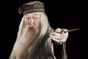 Michael Gambon as Dumbledore in Harry Potter. Photo/supplied
