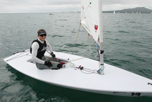 Andrew Murdoch is switching from the Laser to the Finn class. Photo / Greg Bowker