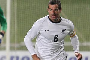 Ryan Nelsen played 49 international for New Zealand. Photo / Greg Bowker