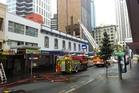 Auckland Central apartment fire.