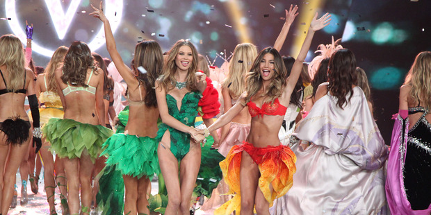 Victoria's Secret models won a genetic lottery.Photo / AP