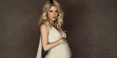 Shakira gave birth this morning, reports say. Photo/AP