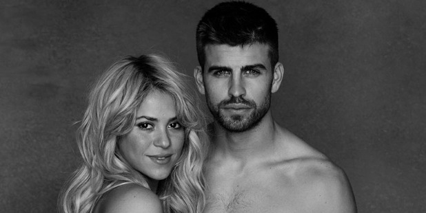 Shakira and Gerard Pique. Photo/AP