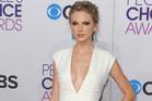Taylor Swift at the People's Choice Awards. Photo/AP