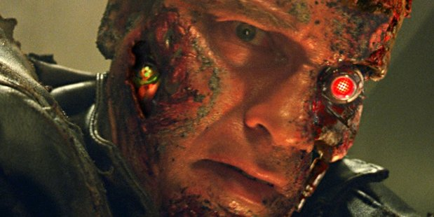 Arnold Schwarzenneger in Terminator 3: Rise of the Machines. Photo/supplied