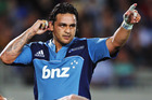 Piri Weepu in action for the Blues last season. Photo / Getty Images
