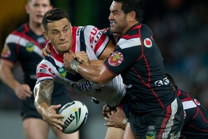 Sonny Bill Williams needs to fit boxing around league. Photo / Brett Phibbs