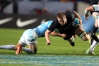 Sam Cane was fast and effective against Argentina. Photo / Getty Images