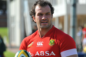 Bismarck du Plessis. Photo / Getty Images