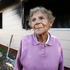 Edna Harrison, 89, saved her neighbour when his house caught fire. Photo/Joel Ford