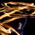 Fire juggler, Fiona Scott performed at the Tauranga Waterfront Festival. Photo/John Borren