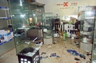 Fone Xpress was one of the dozens of stores looted.
