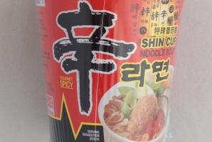 Shin Cup Noodle Soup.