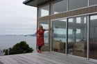 Hilde Hoven's solar-powered retreat on Great Barrier Island is a place where people go to unwind.