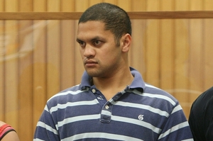 Henare Hadfield yesterday was sentenced in the Tauranga District Court for another unprovoked attack on a man.