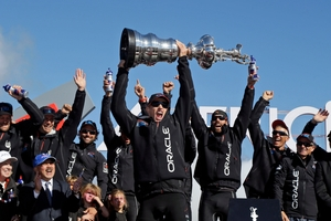 Jimmy Spithill's success was one of the greatest comebacks in history. Photo / AP