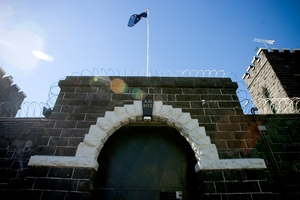 Mt Eden Prison first housed prisoners in about 1888 and its exterior is classified as a Category One historic place. Photo / Dean Purcell