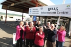 Bulls residents protest over the proposed relocation of the town's facilities. PHOTO/FILE