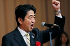 Prime Minister Shinzo Abe is seeking to revive Japan's economy. Photo / AP