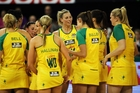 The Australian Diamonds are a different side from the outfit which lost the first test of the Constellation Cup series. Photo / Getty Images