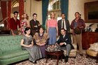 The cast of new Aussie drama A Place To Call Home. PIC/FILE