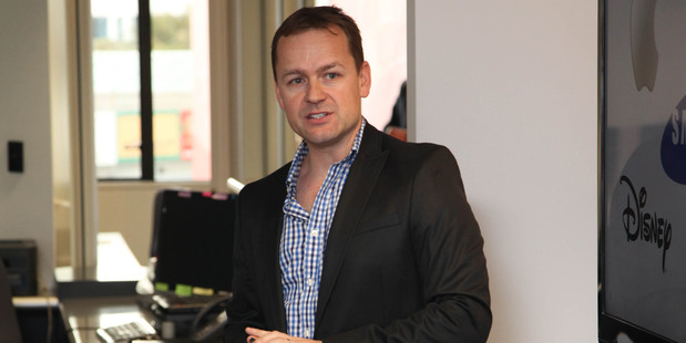 Booktrack CEO, Paul Cameron.