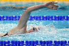 Lauren Boyle led the way on the fourth morning of heats at the New Zealand Short Course Championships at the Wellington Regional Aquatic Centre today. Photo / Getty Images.