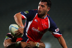 Tasman wing James Lowe has signed with the Chiefs for the next two Super Rugby seasons. Photo / Getty Images.