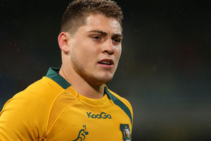 James O'Connor is off the Wallabies' payroll until at least 2015 and won't be considered for the end of year tour to Europe as part of his punishment for poor off-field behaviour. Photo/ Getty Images.