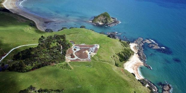 The 16ha Doubtless Bay property is advertised as a four-hour drive or 45-minute helicopter ride from Auckland.