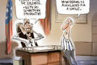 The Obama Govt goes into limbo as the Govt is shut down over Obama Care. Image / Rod Emmerson
