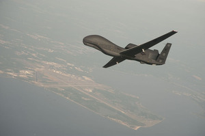 A RQ-4 Global Hawk unmanned aerial vehicle. Photo / AP